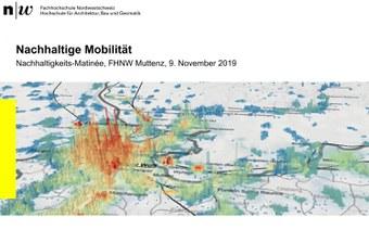 Nachhaltigkeits-Matinée, FHNW Muttenz, 9.11.2019