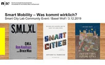 Smart City Community Lab Event, Basel Wolf, 3.12.2019