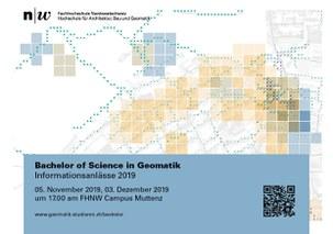 Informationsanlass Bachelor in Geomatik