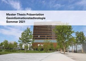 Master-Thesis Präsentation Sommer 2021