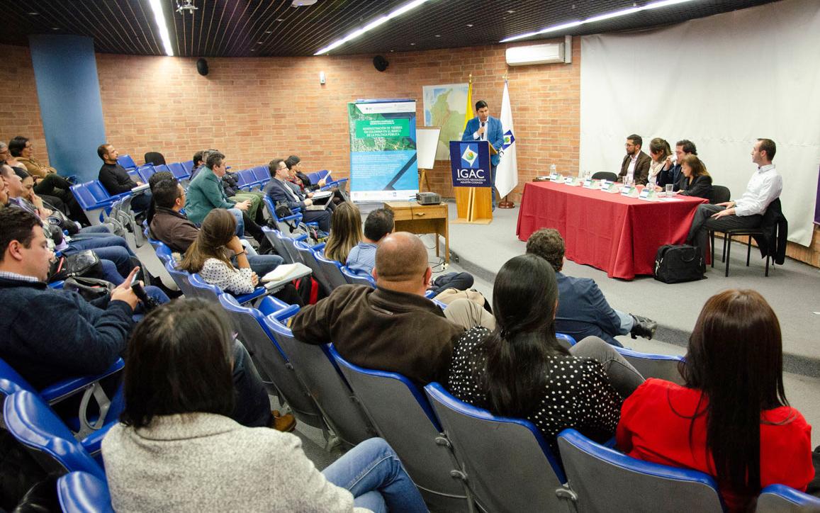 Eröffnung CAS Landadministration in Kolumbien