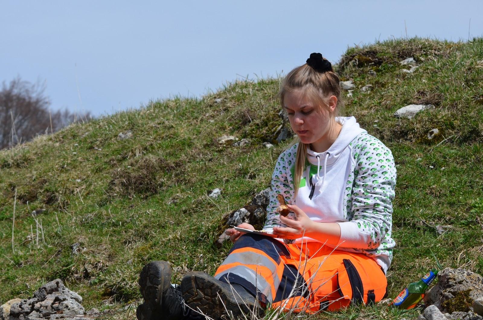 Feldpraktikum im Bachelor-Studium Geomatik an der FHNW.