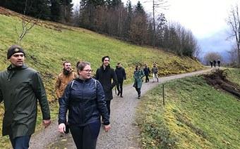Die «Spring School Regio Basiliensis» auf den Spuren des Klimawandels im Dreiland