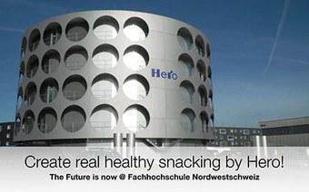 Innovation, die durch den Magen geht:Praxisauftrag «Create real healthy snacking»