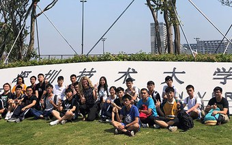 Unterrichten in China…