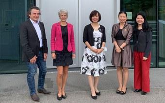 Vietnamesische Botschafterin stellt digitales Ökosystem vor