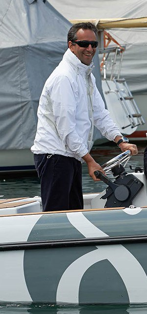 Clemens Dransfeld beim Segeln