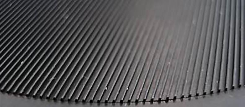 Die Haftstruktur der Geigenstütze aus elastischen Thermoplasten (Bild: FHNW)