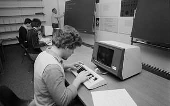 In Windisch kann man seit 40 Jahren Informatik studieren