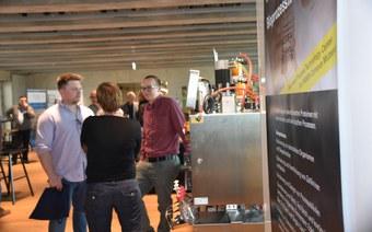 140 Besucher an der Eröffnung des Process Technology Centers (PTC)