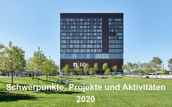 Schwerpunkte, Projekte und Aktivitäten im Berichtsjahr 2020