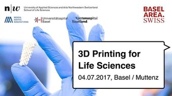 Symposium 3D Printing for Life Sciences