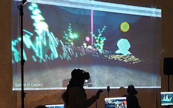 Games in Concert – Collaborative Music Making in Virtual Realities