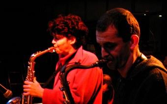 Co Streiff und Tommy Meier: SaxophoNische Erkundung