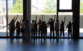 Transit. Eine Aktion mit Studierenden des Theaterlabors