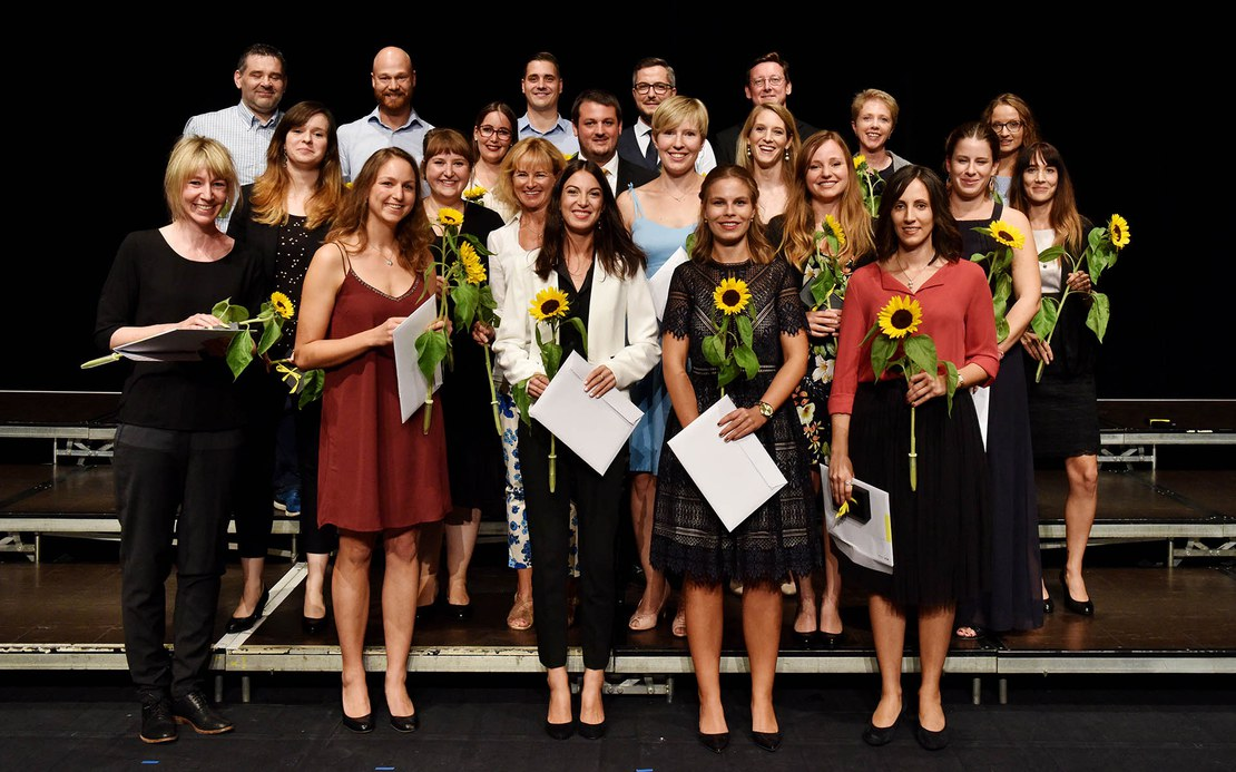 Masterabsolventinnen und -absolventen Angewandte Psychologie 2018