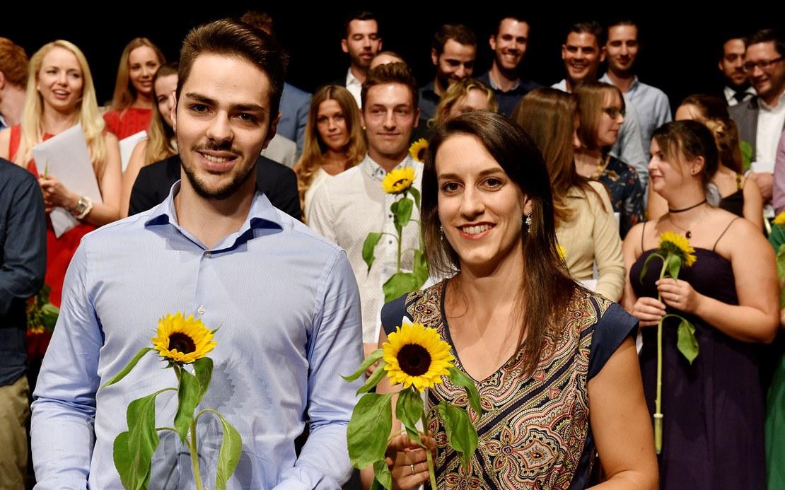 Ausgezeichnet im Bachelor Adrian Campos und Daniela Iseli