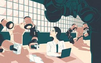 Fabrikarbeit der Zukunft