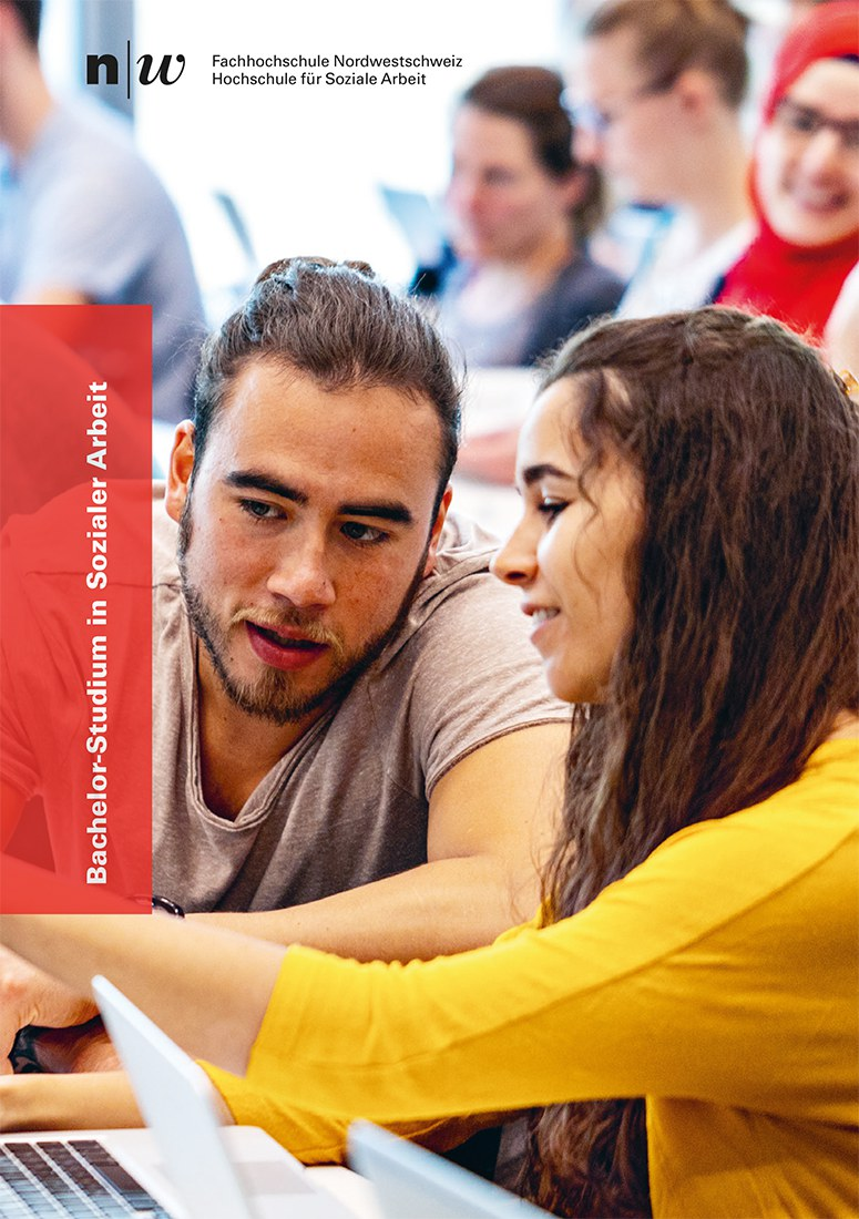Broschüre Bachelor-Studium in Sozialer Arbeit
