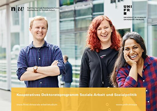 Flyer Kooperatives Doktoratsprogramm Soziale Arbeit und Sozialpolitik