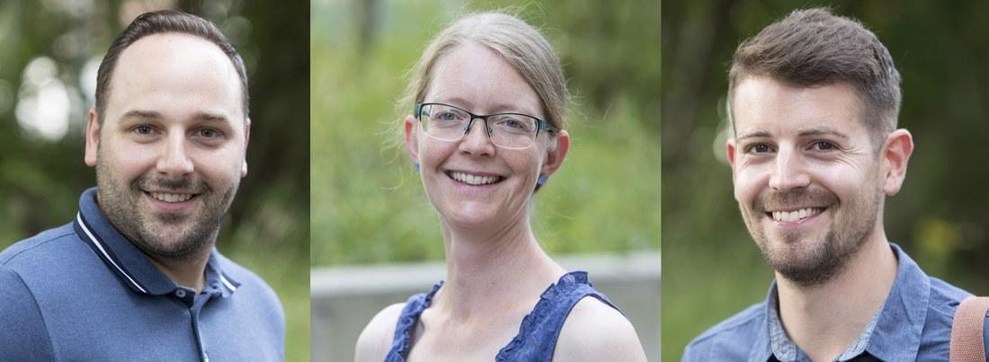 Dominik Rüegg, Marie-Thérèse Hofer und Aaron Rhyner haben an der Hochschule für Soziale Arbeit FHNW das Master-Studium absolviert.