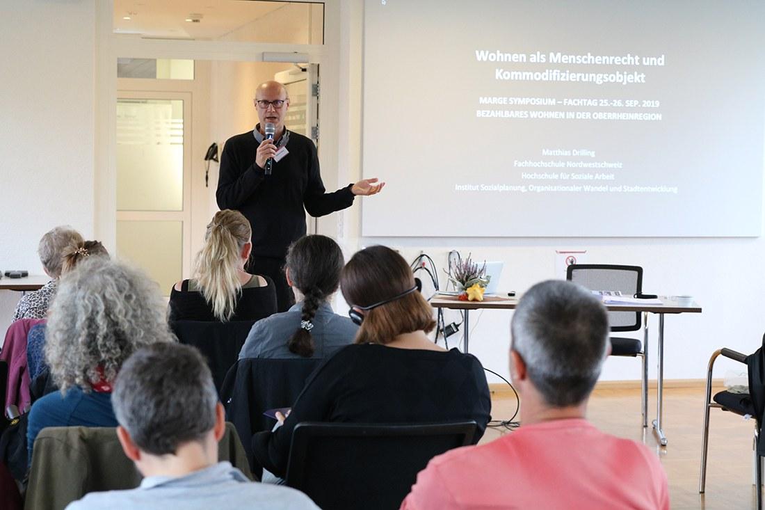 1. MARGE-Fachtag zum Thema Bezahlbares Wohnen in der Oberrheinregion