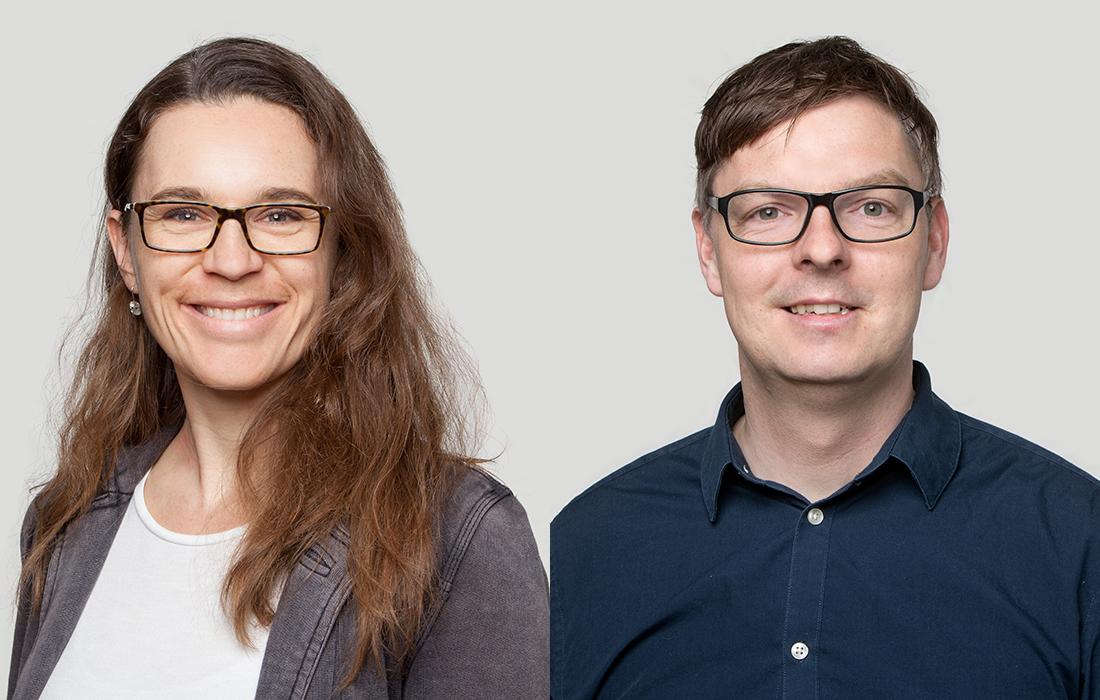 Rahel Heeg und Kay Biesel