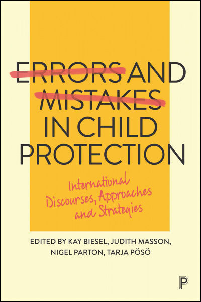 Buchcover von Errors and Mistakes in Child Protection