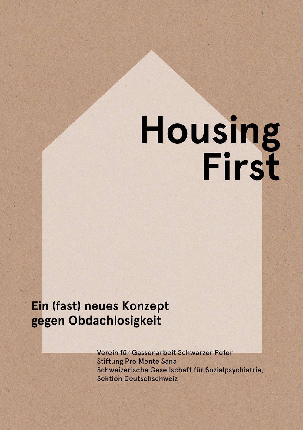 """Buchcover """"Housing first"""""""