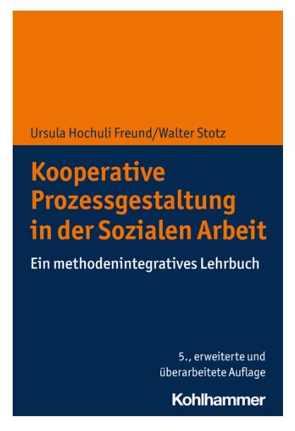 """Buchcover """"Kooperative Prozessgestaltung in der Sozialen Arbeit"""""""