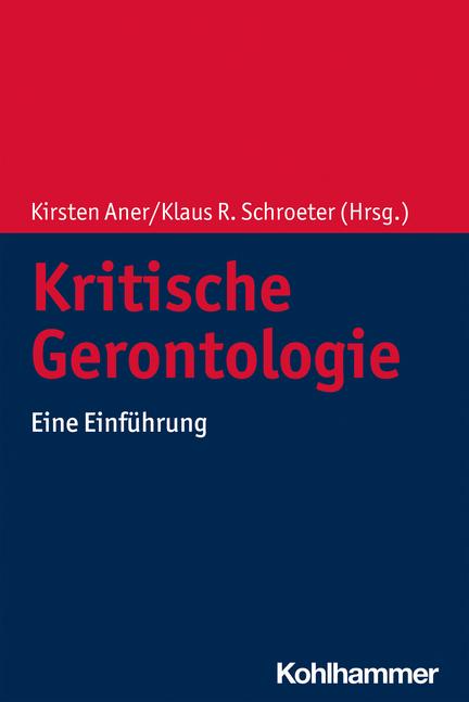 """Buchcover von """"Kritische Gerontologie"""""""