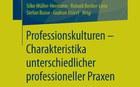 Neues Buch «Professionskulturen – Charakteristika unterschiedlicher professioneller Praxen»