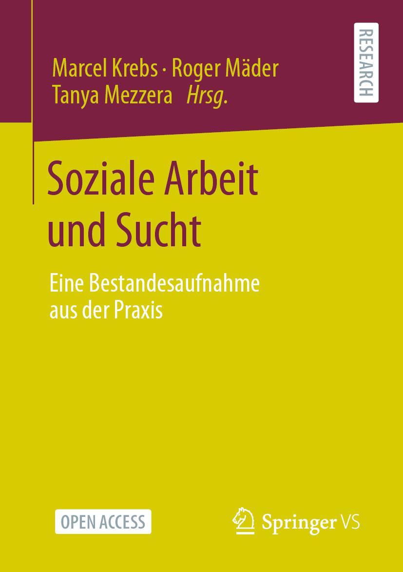 """Buchcover """"Soziale Arbeit und Gesundheit"""""""