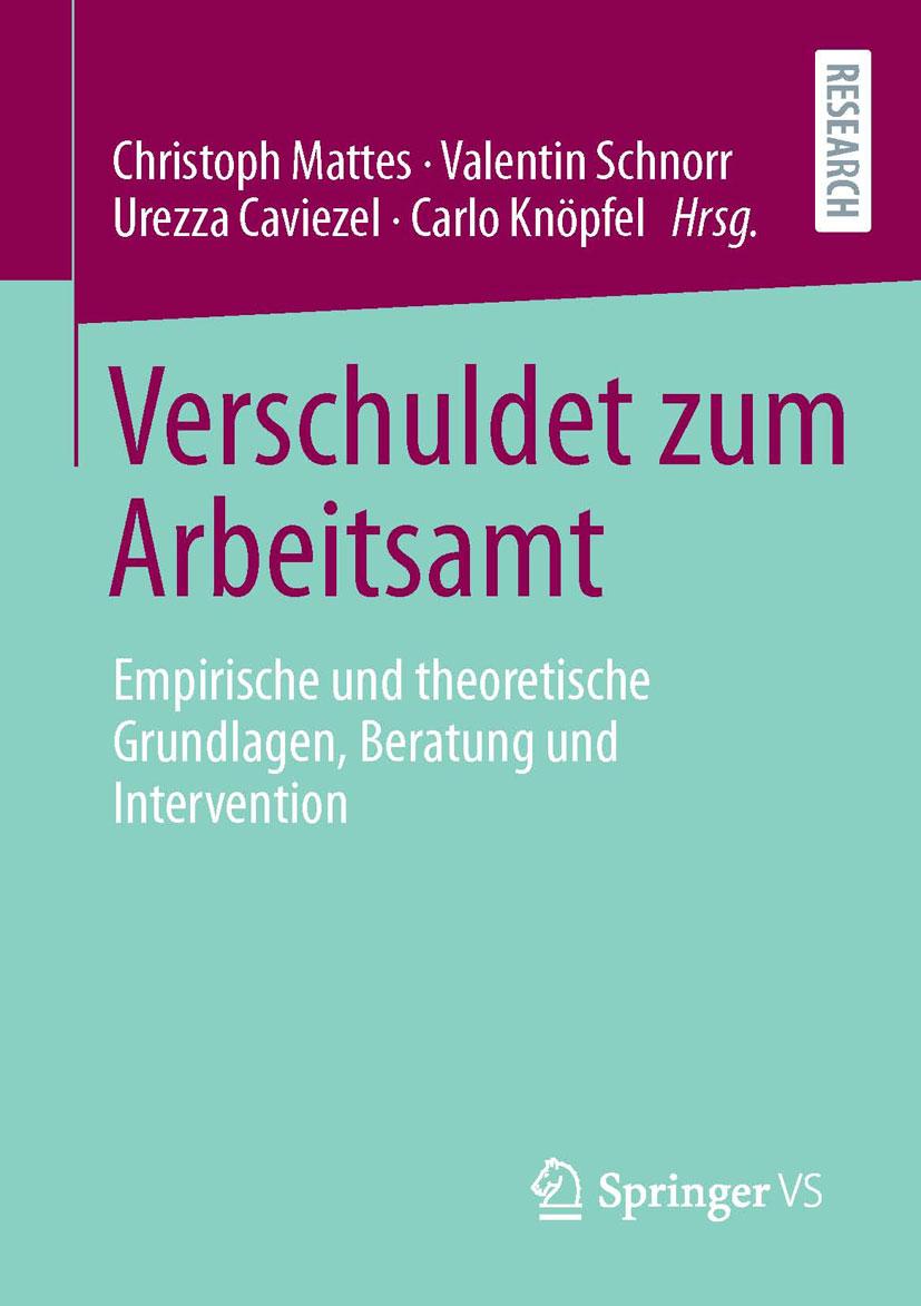 """Buchcover von """"Verschuldet zum Arbeitsamt"""""""