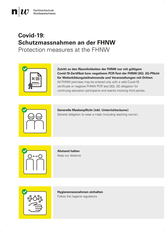 Plakat Schutzkonzept