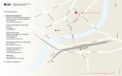 Situationsplan Standort Solothurn