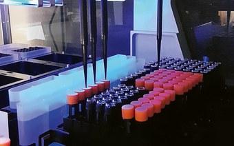 Roboterhilfe im Labor