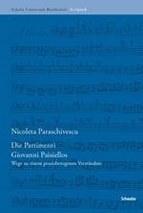 Nicoleta Paraschivescu: Die Partimenti Giovanni Paisiellos - Wege zu einem praxisbezogenen Verständnis