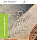 """Symposium """"Contraffare"""" – Alte Melodien, neue Texte, 16. – 18. November 2017"""