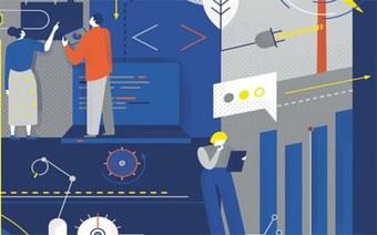 Cover Informationsbroschüre zu den Instituten der Hochschule für Technik FHNW