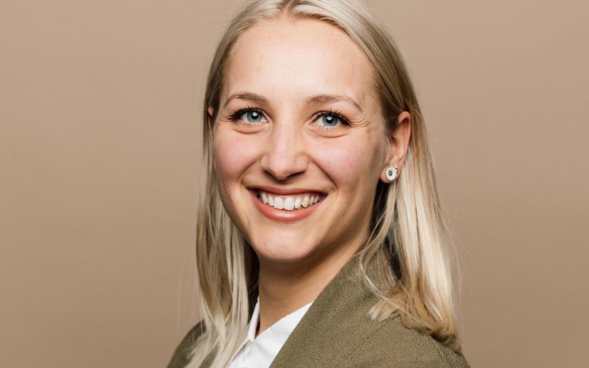 Melanie Dekker – bester Notendurchschnitt BSc