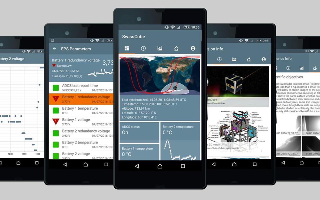 App für Mikrosatelliten