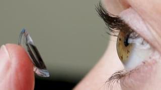 Kontaktlinsen im Test: Nicht mit allen Linsen sieht man scharf