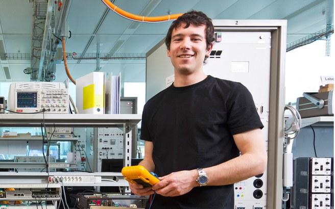 Stefan Freiermuth, Elektro- und Informationstechnik