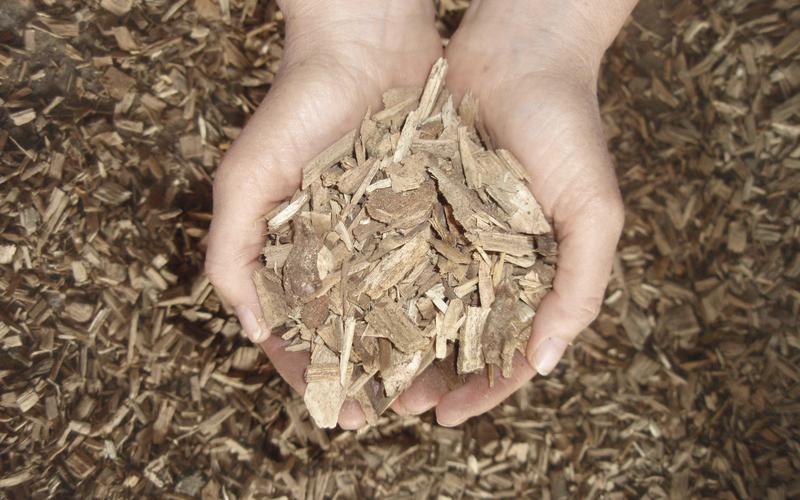Holzschnitzelheizung