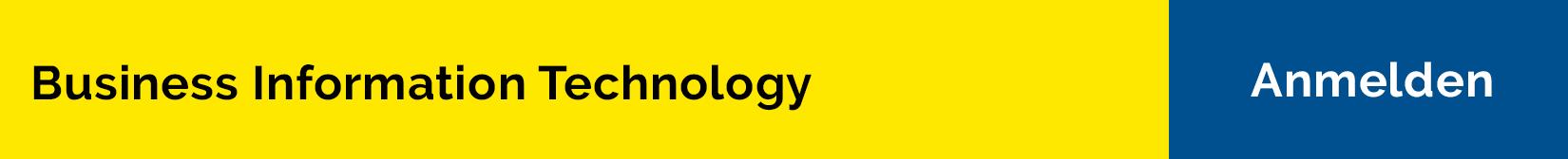 Bachelorstudium Business Information Technology