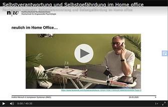 Selbstverantwortung und Selbstgefährdung im Home Office