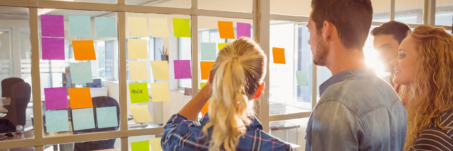 agile Grundkenntnisse. Ein Tagestraining zum erlernen agiler Methoden anhand von Beispielen und Erfahrungen.