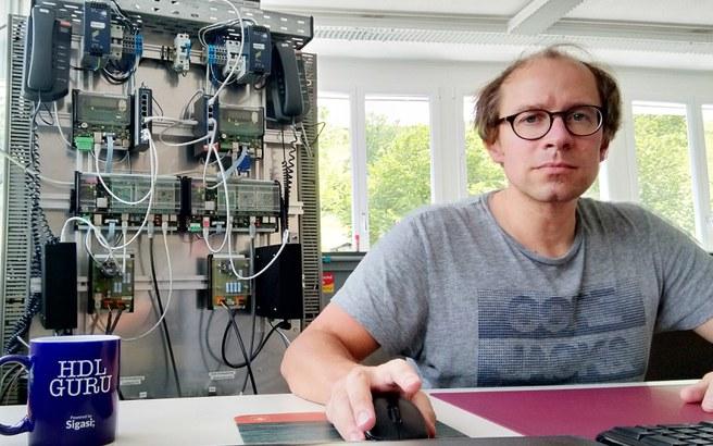 Severin Heynen, Entwicklungsingenieur, FREY AG Stans Seilbahnsteuerungen