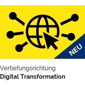 Vertiefungsrichtung Digital Transformation